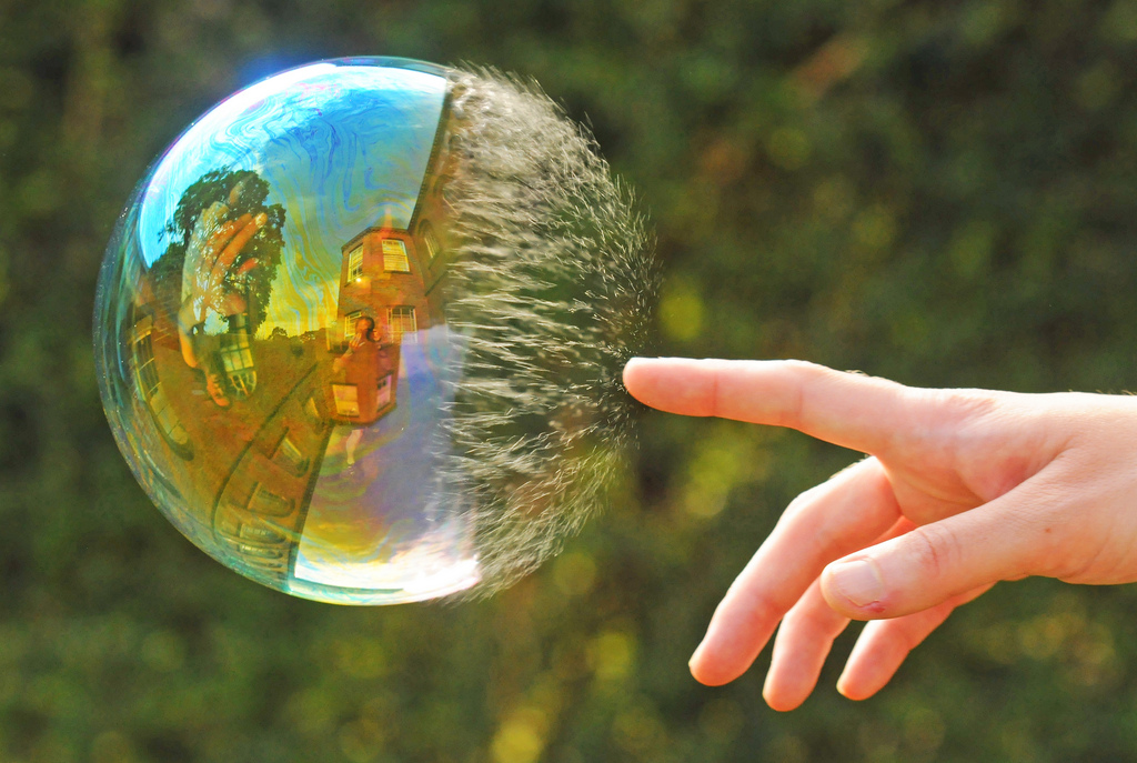 Hot air can't bust a housing bubble that doesn't exist