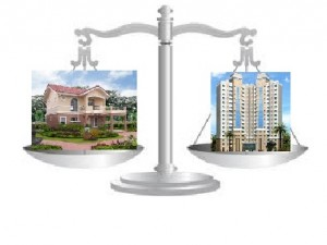 flat or house property