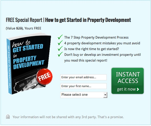 How to get started in property development