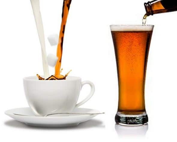 Coffee or Beer? What's best to stimulate your thinking? [Infographic]