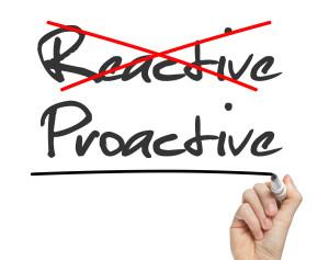 Proactive Reactive