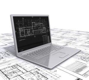 computer house plan
