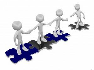 team work help puzzle group peer team