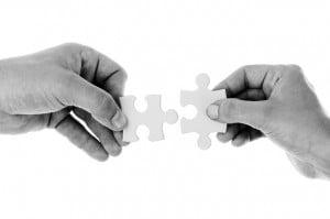 teamwork puzzle help peer group team