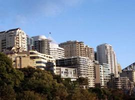 The population density of Sydney