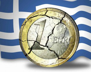 euro breaking greece