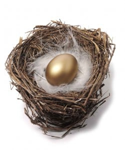 retire nest egg super