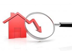 decrease rent price house cost stats data crash property market decline