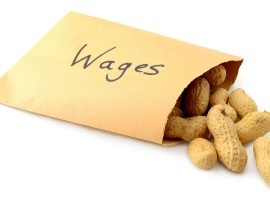 Wages growth slows to a crawl