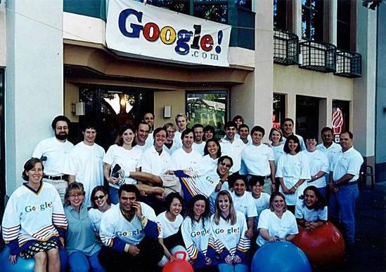 13. Google begins