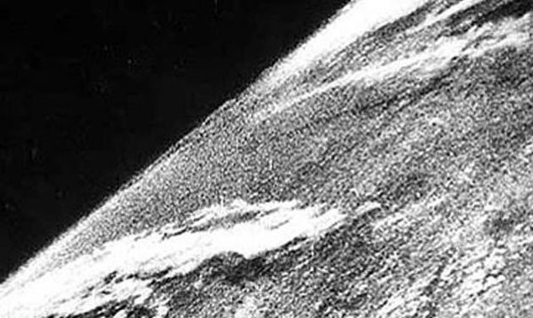 19. The first photo taken from space in 1946