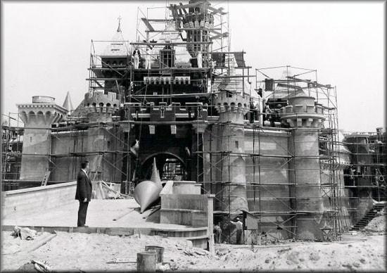 33. The construction of Disneyland