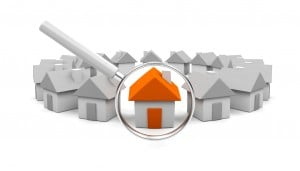 house inspect search magnify property market neighbour
