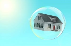 property bubble market burst house price correction future