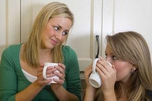 advice friend drink diet healthy food social happy women coffee help talk