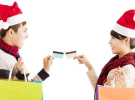 Credit card providers playing Santa just in time for Christmas