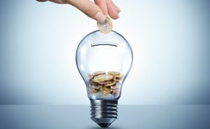 idea save coin light bulb strategy deposit house