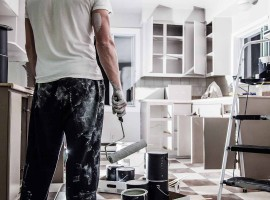 Home renovating down
