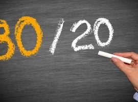The 80/20 rule in property investment