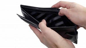 wallet poor money empty pay finance