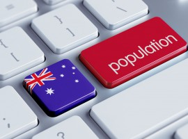 Australia's population continuing to grow rapidly