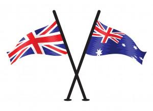 41235652 - great britain and australian vector flag