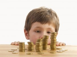 Spoiling your children may turn them into money hungry adults