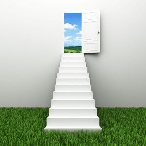 13621156 - stairway to the sky, climbs to the ladder of success