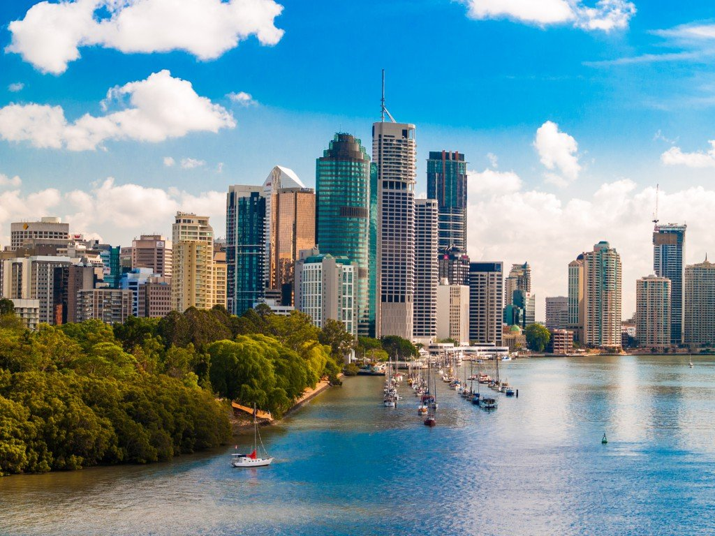 Brisbane City CBD, Queensland, Australia
