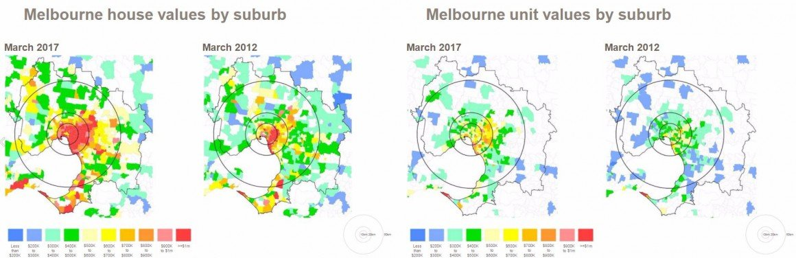 Mapping the property market | May 2017 on