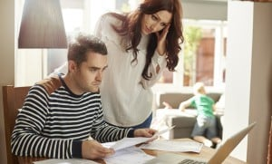 young family money worries