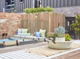 THE BLOCK: gorgeous and grand backyards revealed