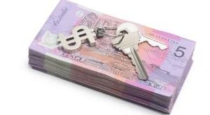 Notes Australian Dollar Money Keys Tenant Deposit Buy Cost House Property 300x200