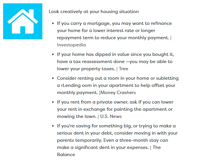 6 Budget Myths To Stop Falling For Housing Situation