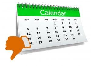 Fail Calendar
