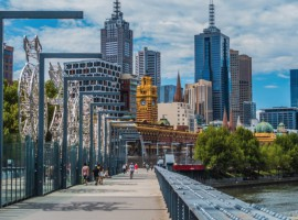 Melbourne hits the 5 million people milestone today
