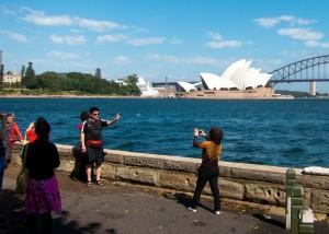 Tourists Sydney