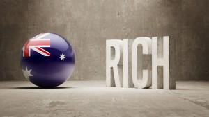 Australia. Rich Concept.