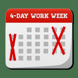 4 Day Calendar