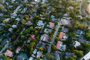 Aerials Of Neighborhood