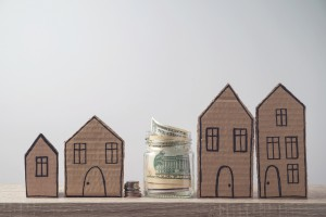 Property Investment And House Mortgage Concept