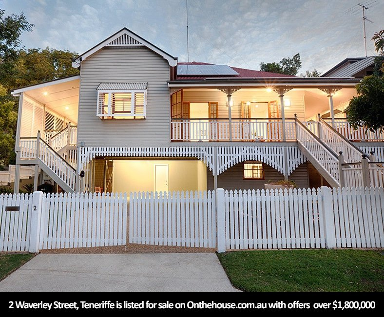 Teneriffe is Queensland's new number one destination