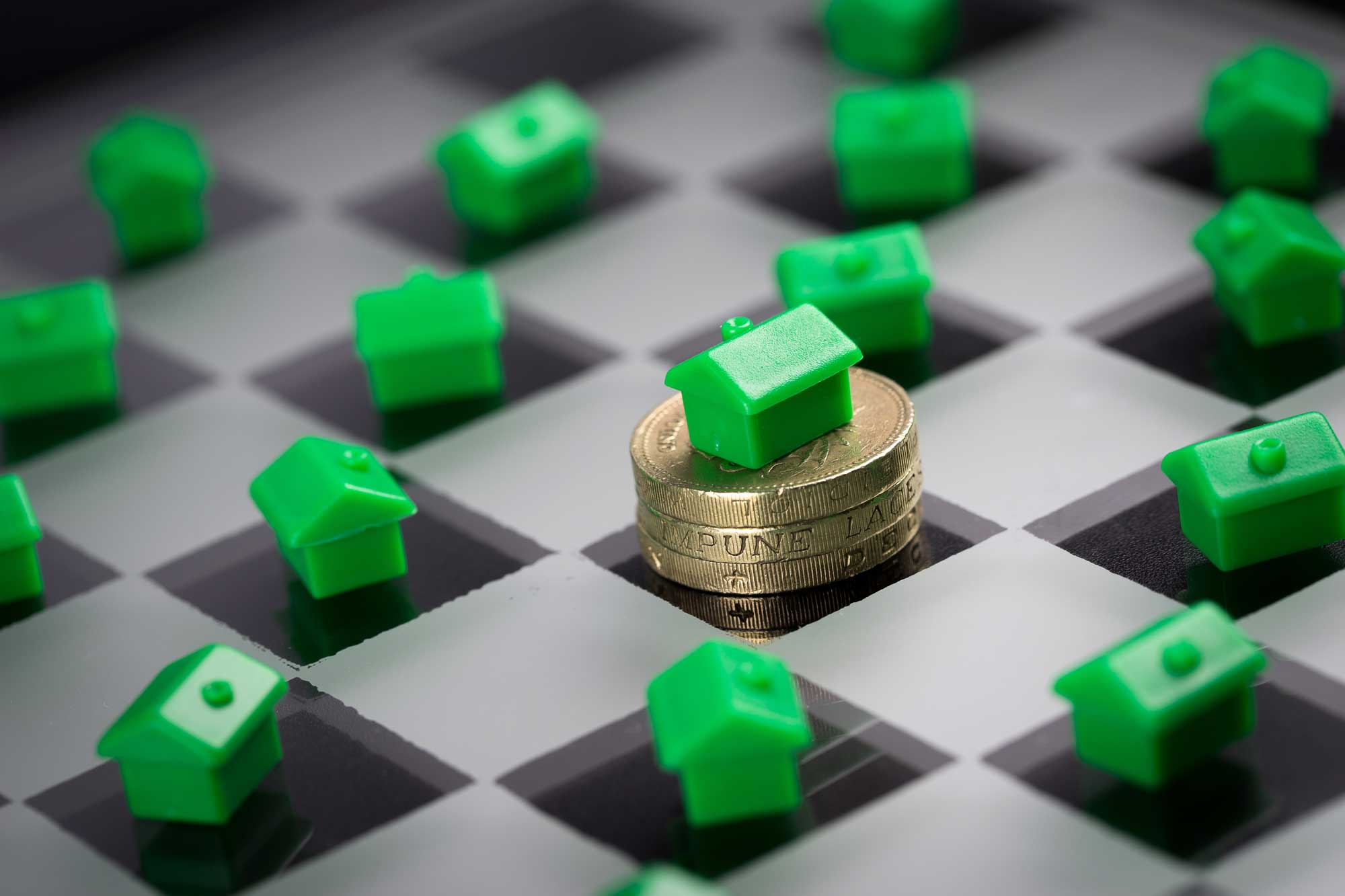 Property sales should continue to rise which will help the economy