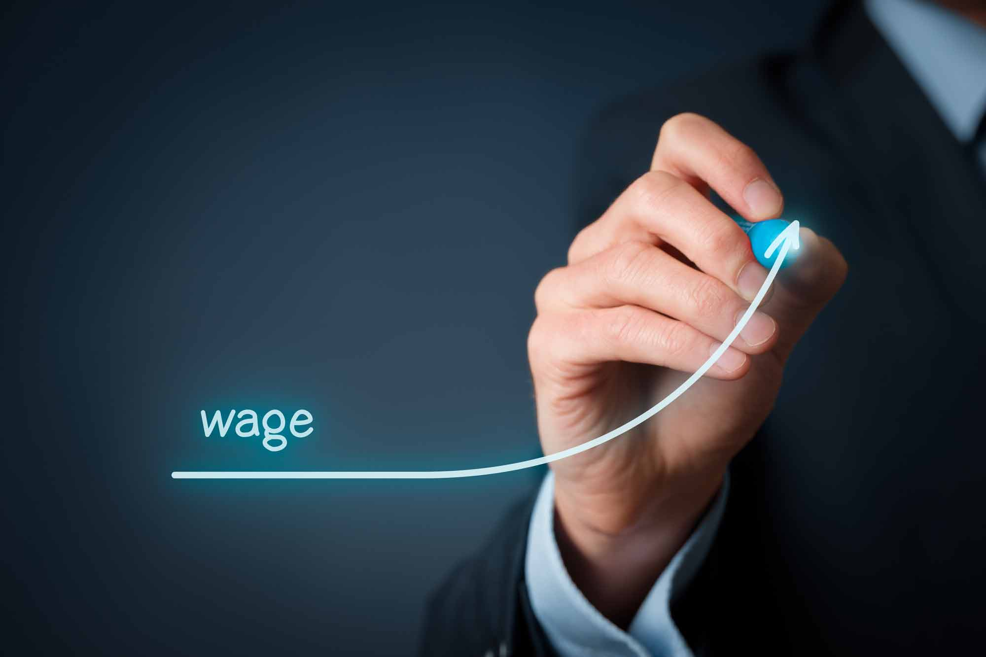 Wages growth decelerates