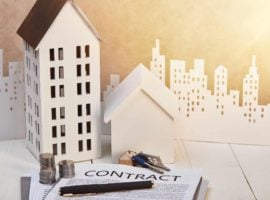 Rents edged up over January