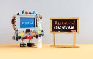 Attention Coronavirus Covid 19 Urp6jvb
