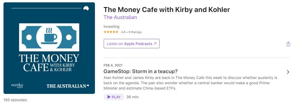 Money Cafe Podcast