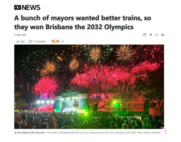2032 Olympics